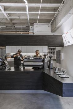 Coffee Bar Kearny | jones | haydu