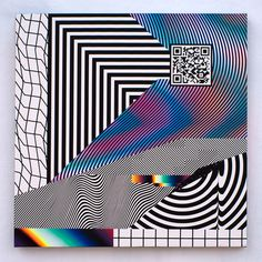 Impossible Collaboration, Felipe Pantone #glitch #opart