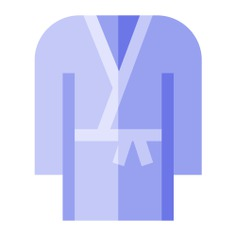 See more icon inspiration related to bathrope, wellness, bathing, comfortable, clothing, fashion and clothes on Flaticon.