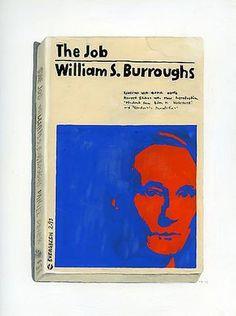 RICHARD BAKER - The Job #baker #richard #book #cover #painting #typography