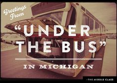 A Postcard from Michigan's middle class | Democrats.org #political #postcard #typography