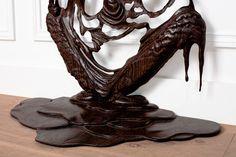 Melting wooden frames by Bonsoir Paris #sculpture