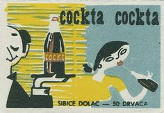 Yugoslavian matchbox label | Flickr - Photo Sharing! #matchbox #yugoslavian #vintage #label