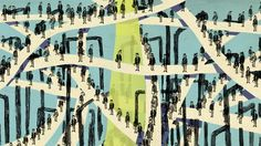 index_edithcarron #illustration #crowd #people