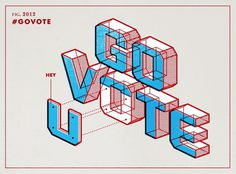 Ms_govote_lg #stevens #matt #go #vote #typography