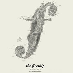 Coasts/Apostle cover art #chicago #fireship #cover #island #italian #art #band #happycentro