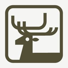 DeerIllustration #mark #branding #sign #symbol #identity #logo