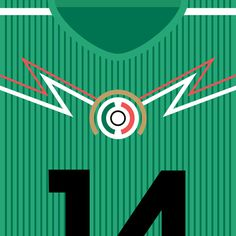 Mexico El Tri #flat #swiss #mexico #design #world #soccer #fifa #cup #futbol