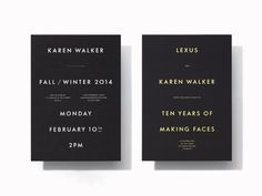 Karen Walker by Osborne Shiwan / AGDA Awards