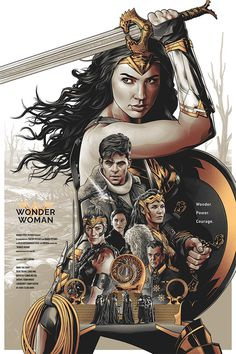 Wonder Woman – Alternative Movie Poster by Amien Juugo