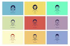 Vector Portraits Series