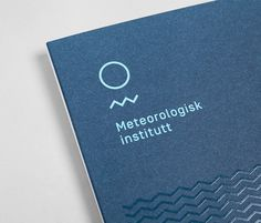 Meteorologisk institutt — Neue — New, relevant & remarkable #neue #branding #identity #nordic