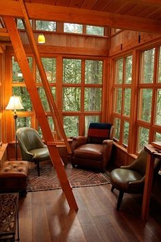 Treehouses of Treehouse Point - Trillium #treehouse