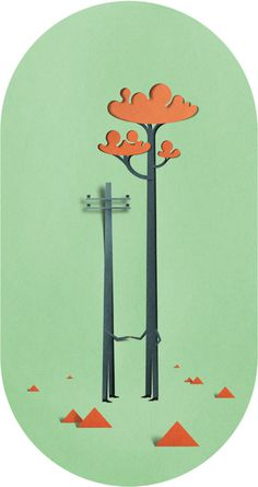 It\'s Nice That : Multi-talented Estonian creative Eiko Ojala is a particular paper collage whizz