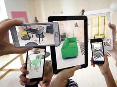 Ikea's 2014 Augmented Reality Catalog Business Insider #reality #augmented