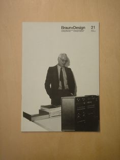 Braun+Design 21 (via Alphanumeric.) #products #design #graphic #braun #magazine