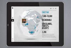 Creative Review WWF's new iPad app #globe