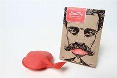 Banter Whoppie Cushions on the Behance Network #packaging #sandi #print #design #mustache #illustration #logo #grigoryan #paper