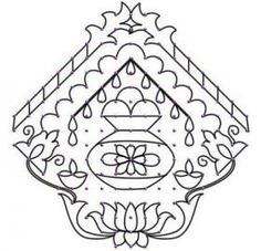 Pulli Kolam Designs