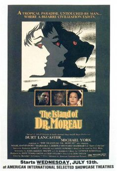 island_of_dr_moreau #movie #horror #poster
