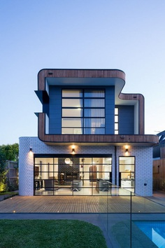 Double Fronted Victorian House Extended by Jost Architects
