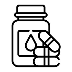 See more icon inspiration related to vitamin, supplement, pill, pills bottle, healthcare and medical, vitamins, pills, medication, pharmacy, bottle and medicine on Flaticon.