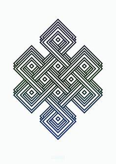 Eternal Knot- Adrian Smith #mark #knot #design #symbol #eternal