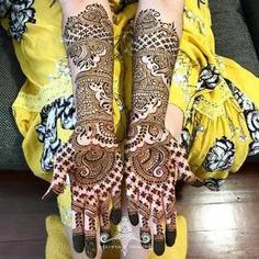 Bridal Mehendi Design Ideas