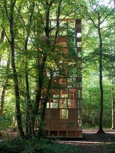 L'Observatoire by CLP Architectes #pavillion #pavilion #architecture