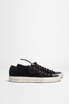 Buttero Tanino Low Suede Black | TRÈS BIEN #shoes #italian #sneakers #leather #buttero