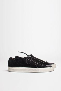 Buttero Tanino Low Suede Black | TRÈS BIEN #sneakers #shoes #leather #italian #buttero