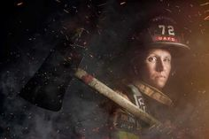 #1 Mindy Gabriel, Firefighter In Upper Arlington, Ohio