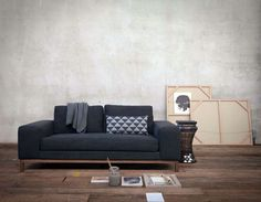 Classic Line Sofa with Pure Lines - #decor, #interior, #homedecor,