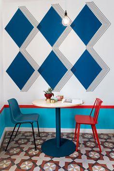 Valencia Lounge Hostel Revamped by Masquespacio