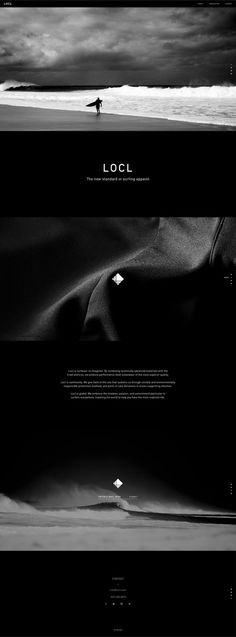 Locl Branding by High Tide NYC #branding #surfing #design #website #logo