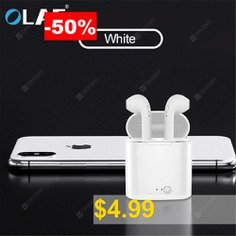 OLAF #i7s #Bluetooth #Earphone #Mini #Wireless #Earbud #Sport #Cordless #Headset #with #Charging #Box #for #iphone