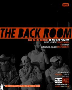 The Back Room Flier