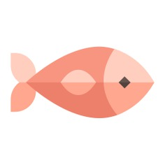 See more icon inspiration related to fish, animal, food, diet, sea life, organic, healthy food and animals on Flaticon.