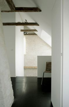 House and art studio corridor