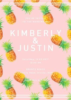 The weather is heating up and it's got us dreaming of tropical paradise #paperlust #weddinginvitation #weddingstationery #weddinginspiratio