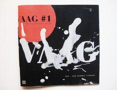 VAAG Magazine | subform— #ink #dennis #print #de #cover #vaag #vries #subform #magazine #typography