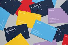 Huhbub by Fiasco Design — The Brand Identity