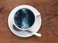 Unique Coffee Cup Manipulations by Victoria Siemer #coffeeArt #artistic #uniqeDesign