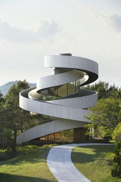 http://www.archdaily.com/594947/ribbon-chapel-nap-architects/ #architecture #photography #view #japan