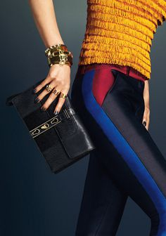 Aurelia Gilwska by Andrew Yee for Henri Bendel Campaign #fashion #model #photography #girl