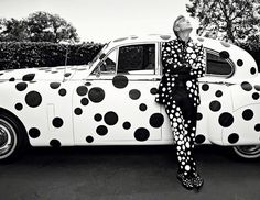 """Clooney, Kusama & Car, September 24th 2013"", Emma Summerton #fashion #george #style #clooney"