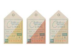 Hang Tags #clothing #modern #co #hang #la #mid #century #tags #california