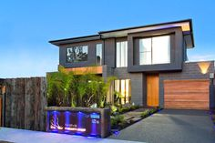 Splendid stylistic conception and impeccable finishes by Knight Building Group - www.homeworlddesign.com (1) #melbourne #architecture