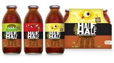 Diet Snapple Half N' Half Iced Tea - blog - tad carpenter #package #illustration #label