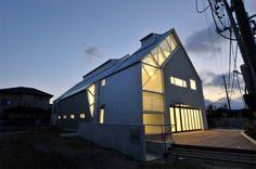 Ueno Gas Kameyama by KIZ Architects #architecture #minimal